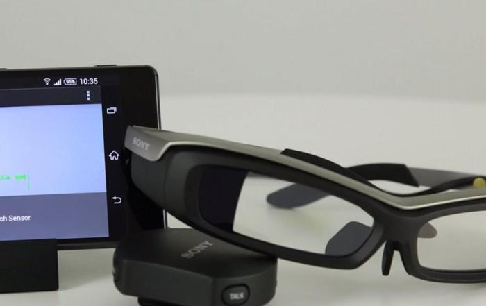 sony et ses lunettes connect es comparatif opticien en lignecomparatif opticien en ligne. Black Bedroom Furniture Sets. Home Design Ideas