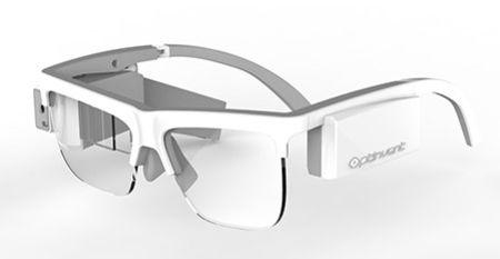 Lunette de vue avec réalité augmentée